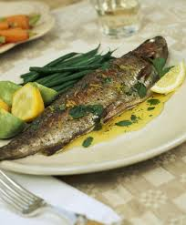 broiled rainbow trout recipe