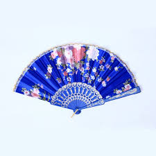 held folding fans wholesale beautiful held fan lace flower floral fabric