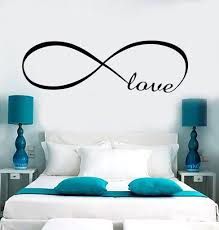 wall stickers and decals buy online wall decorations at decal wall vinyl love infinity woman girl room romantic bedroom art stickers ig3638