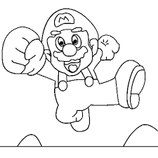 mario bros coloring pages kidscolouringpages orgprint u0026 download mario coloring pages