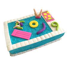 pool party cake kit birthday cake kit swimming pool cake