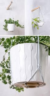 trendy modern hanging planter 97 diy modern macrame hanging