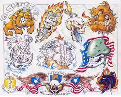 Mexico Flag Tattoo Mexican Flag Tattoo Design For Men