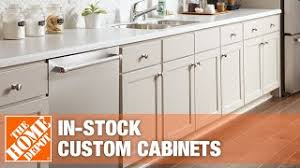 does home depot do custom cabinets the difference between in stock and custom cabinets the