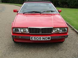 maserati biturbo 1988 maserati biturbo spyder for auction anglia car auctions
