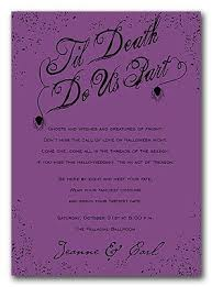 halloween wedding invitation wording iidaemilia com