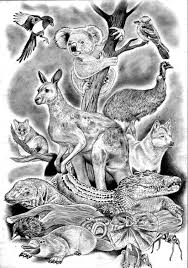my australian animals tattoo design tattoodesigns