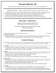 Resume Templates For Nurses Free Nursing Resume Templates Eliving Co