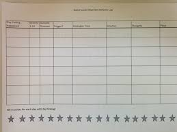 Ptsd Worksheets Child Version Of Picking U0026 Pulling Log Courage Counseling Pllc