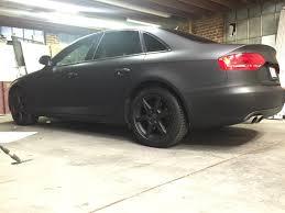 audi color changing car matte black color change car wrap 2009 audi a4 sedan car wraps