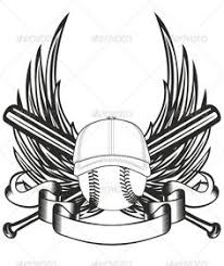 cross with wings on baseball applique baseball pinterest