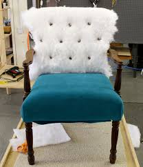 how to cover a chair how to upholster a chair part 3 the inside back modhomeec
