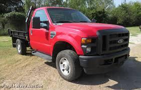 2009 ford f250 super duty flatbed pickup truck item di9872