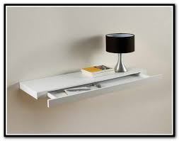 Floating White Shelves by Floating Box Shelves White Home Design Ideas