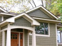 split level style craftsman style exterior home makeover hgtv