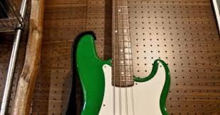 axl johnson p bass copy diy effects amps and instruments