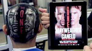 mayweather vs canelo haircut youtube