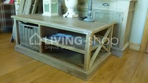 country style coffee table country style coffee table with basket living shop shop online