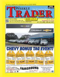 weekly trader september 22 2016 by weekly trader issuu