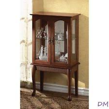 Curio Cabinets Under 200 Transitional Curio Cabinets Ebay