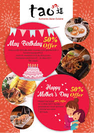 discount cuisine tao authentic cuisine buffet 50 discount for s day 14