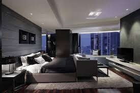 dark bedroom furniture and light walls white chair grey headboard