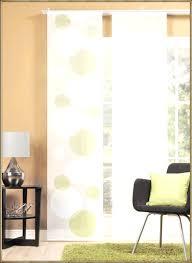 schiebegardinen kurz wohnzimmer moderne schiebevorhänge