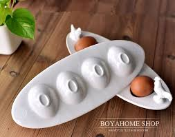 ceramic egg plate aliexpress buy creative white ceramic egg plate boat