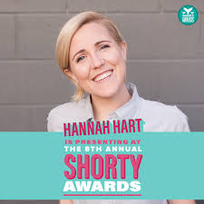 My Drunk Kitchen Hannah Hart Will Be A Presenter At The 8th Annual Shorty Awards