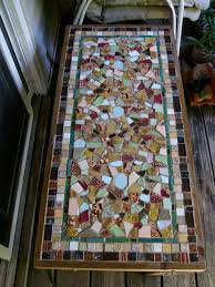 How To Make A Mosaic Table Top Modern Design Mosaic Tile Table Unusual Inspiration Ideas How To