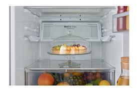 lg gbb60pzgfb a energy rated fridge freezer with full wine rack