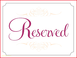 reserved signs for wedding tables reserved signs template editable sign wedding table seat instant