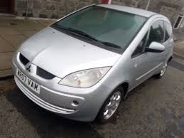mitsubishi colt 1 3petrol car 2007 11mth m o t clean tidy up