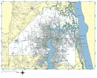 Jacksonville Florida Map With Zip Codes Jacksonville Digital Vector Maps Download Editable Illustrator