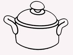 faitout et cuisine coloriage casserole faitout