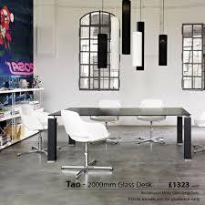 Tao Glass Desks  Office Desks
