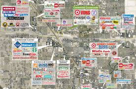 Las Vegas Hotel Map Las Vegas Nv Centennial Crossroads Plaza Retail Space For Lease
