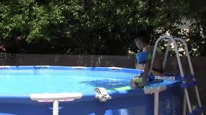 Intex 14 X 42 Intex Pool Youtube