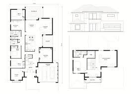 narrow lot home designs two storey home designs rosmond custom