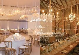 rustic weddings traditional vs rustic wedding best wedding