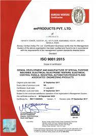 bureau veritas mumbai office iso 9001 2015 certified by bureau veritas enproducts