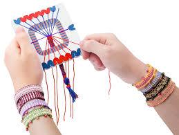 bracelet maker with rubber bands images Premium friendship bracelet maker 2 packs with diy beads rubber JPG
