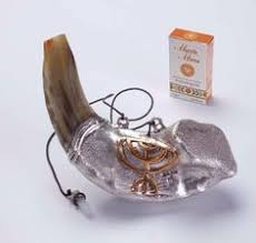 anointing horn best set shofar anointing covered leather ram horn 11 13 and