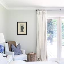 country house style shiplap walls white linen curtains rustic