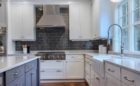top cabinets different color than bottom the best two tone kitchen cabinets tips combinations