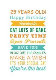 text birthday card card invitation sles text birthday cards happy celebrate 25
