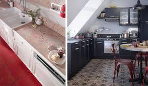 cuisine carreaux imitation carreaux de ciment misez sur le carrelage la mosaïque