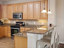 Kitchen Colors With Maple Cabinets Amazing Granite Kitchen Countertops With Maple Cabinets Light