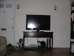 Blank Living Room Wall Need Help Mirror Floor Paint Cabinets