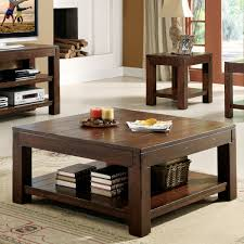 square coffee tables with storage furniture dark brown espresso